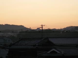 平成19年8月1日夜明け
