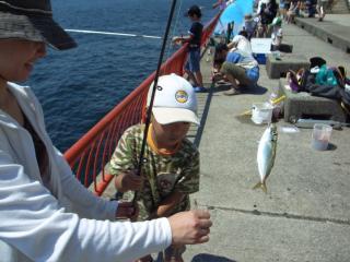 海釣り大会2