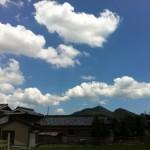 すっかり夏の空