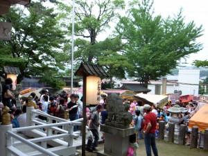 公智神社夏祭