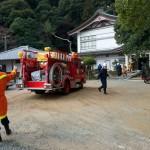 「文化財防火デー」に伴う消防訓練