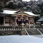 雪の祈年祭